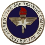Air Education and Training Instructor Badges