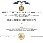 Distinguished Service Medal, Navy, Type 1