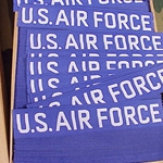 U.S. Air Force Nametape Woven Insignia, Distinguishing, Nametape Tags G.I.
