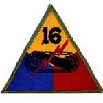 16th Armored Division, A-1-345