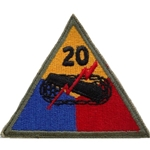 20th Armored Division, A-1-349