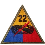 22nd Armored Division, A-1-351
