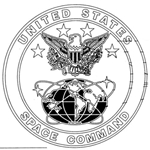 Badge, Identification, U.S. Space Command