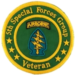 5th Special Forces Group, Veteran Patches
