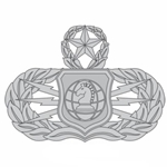 Badge, Occupation, Information Operation, U.S. Air Force