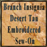 Embroidered Desert Sew-On