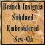 Embroidered Subdued Sew-On