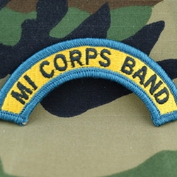 62nd Army Band Tab, A-4-1078
