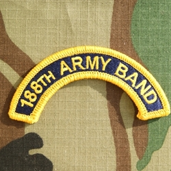 188th Army Band, A-4-1071
