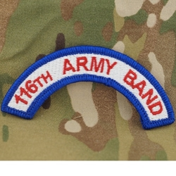 116th Army Band, A-1-1096