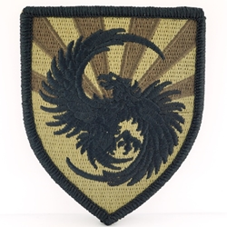 Military Intelligence Shoulder Sleeve Insignia in OCP / MultiCam® / Scorpion with Velcro®