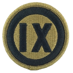 Regional Support Shoulder Sleeve Insignia in OCP / MultiCam® / Scorpion with Velcro®