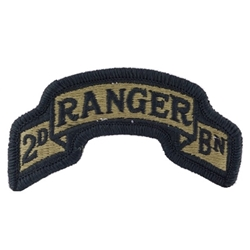 Ranger Shoulder Sleeve Insignia in OCP / MultiCam® / Scorpion with Velcro®