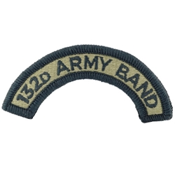 Army Band Tabs Shoulder Sleeve Insignia in OCP / MultiCam® / Scorpion with Velcro®