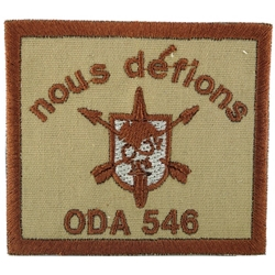 Operational Detachment Alpha (ODA) 546, Alpha Company, 2nd Battalion, 5th Special Forces Group (Airborne)
