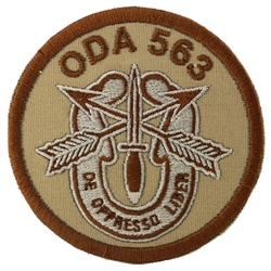 Operational Detachment Alpha (ODA) 563, Charlie Company, 2nd Battalion, 5th Special Forces Group (Airborne)