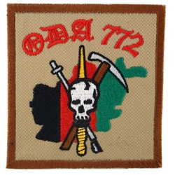 Operational Detachment Alpha (ODA) 772, Alpha Company, 3rd Battalion, 7th Special Forces Group (Airborne)