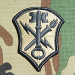 Patch, Intelligence and Security Command, MultiCam® with Velcro®
