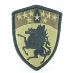 Patch, 63rd Aviation Brigade, MultiCam® with Velcro®