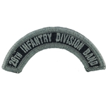Army Band Tab, 29th Infantry Division Band, A-1-1115,  ACU with Velcro®