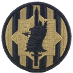 Patch, 89th Military Police Brigade, MultiCam® with Velcro®