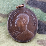 Thailand Buddha Medals, Vietnam War, Good Luck 02