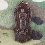 Thailand Buddha Medals, Vietnam War, Good Luck 08