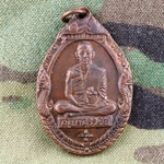 Thailand Buddha Medals, Vietnam War, Good Luck 11