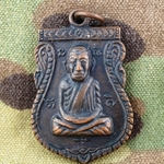 Thailand Buddha Medals, Vietnam War, Good Luck 12