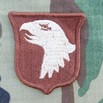 Patch, 101st Airborne Division Type Two without Desert Airborne Tab