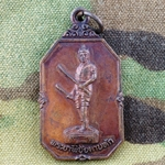 Thailand Buddha Medals, Vietnam War, Good Luck 16
