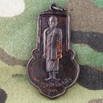 Thailand Buddha Medals, Vietnam War, Good Luck 20