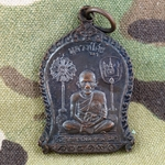 Thailand Buddha Medals, Vietnam War, Good Luck 26