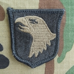 Patch, 101st Airborne Division WithOUT Airborne Tab, Subdued ACU with Velcro®