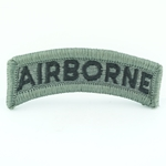 Patch, Airborne Tab, ACU without Velcro®