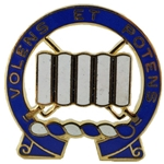 DUI, 7th Infantry Regiment, Motto, VOLENS ET POTENS