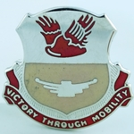 DUI, 26th Support Battalion, Motto, VICTORY THROUGH MOBILITY