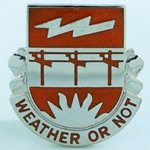 DUI, 26th Signal Battalion, Motto, WEATHER OR NOT
