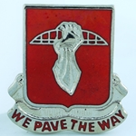 DUI, 17th Engineer Battalion D-3589, Motto, WE PAVE THE WAY