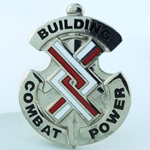 DUI, 20th Engineer Brigade D-3791, Motto: Building Combat Power