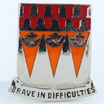 DUI, 33rd Signal Battalion, Motto, Brave In Difficulties
