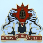 DUI, 35th Signal Brigade, Motto, UTMOST OF OUR ABILITY