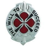 DUI, 39th Signal Battalion, Motto, THE WILL TO SUCCEED
