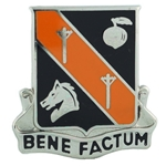 DUI, 40th Signal Battalion, Motto, BENE FACTUM