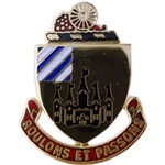 DUI, 3rd Supply and Transport Battalion, Motto, ROULONS ET PASSONS
