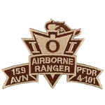 Patch, 159th Aviation Brigade, PFDR, 4th Battalion, 101st Aviation Regiment, Desert, Small New Type