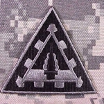 Helmet Patch, 2nd Battalion, 44th Air Defense Artillery Regiment, ACU