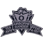 Patch, 159th Aviation Brigade, PFDR, 4th Battalion, 101st Aviation Regiment, ACU, Small Old Type