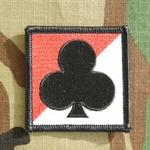 Helmet Patch, 1st Squadron, 32nd Cavalry Regiment, Color