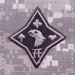 Helmet Patch, 101st Sustainment Brigade, ACU, Type 1